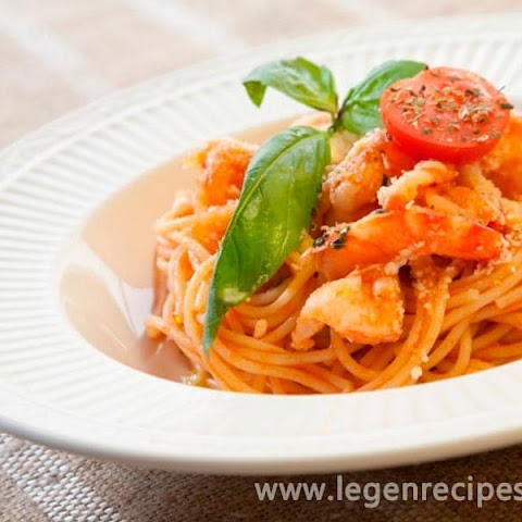 Recipe Pasta With Shrimp In Tomato Cream Sauce