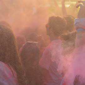 Colors Of Joy  by Rizwan Sadiq - People Maternity ( abstract, life, colors, holi, human,  )