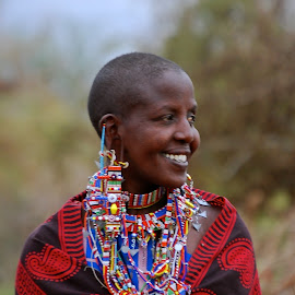 Beautiful maasai lady by Janet Rose - Novices Only Portraits & People (  )