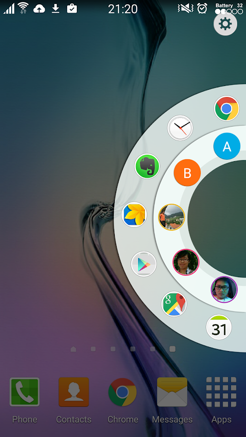 Edge Circle for Note & S6 Edge Screenshot 0