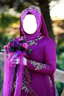 Hijab Wedding Fashion Maker - screenshot