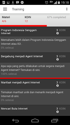 Genggam Internet screenshot 5