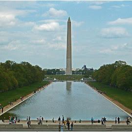 Washington D.C. by Dirk Luus - City,  Street & Park  City Parks ( park, monument, travel, attraction, city,  )