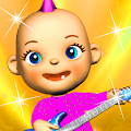 My Talking Baby Music Star APK for Bluestacks