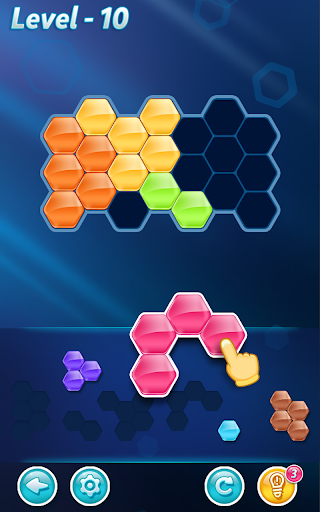 Block! Hexa Puzzle v1.3.5 (Mod Apk Hints/Unlocked)