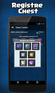 App ultimate chest tracker for CR APK for Kindle