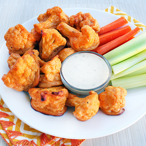 "Cauliflower Buffalo ""Wings"""