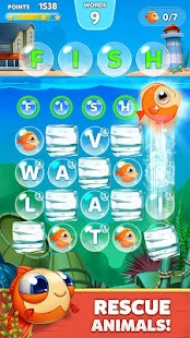 Bubble Words - Letter Splash - screenshot