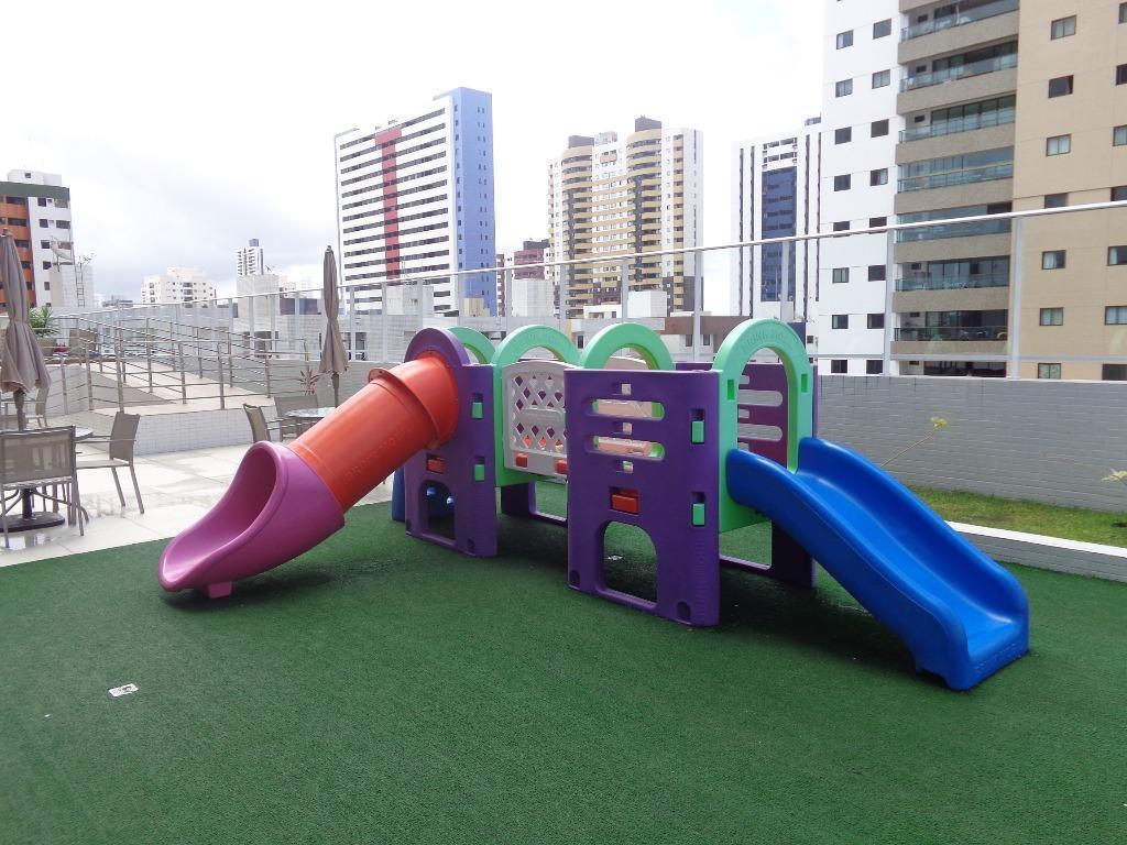 Apartamento com 3 dormitórios à venda, 73 m² por R$ 325.000 - Bessa - João Pessoa/PB