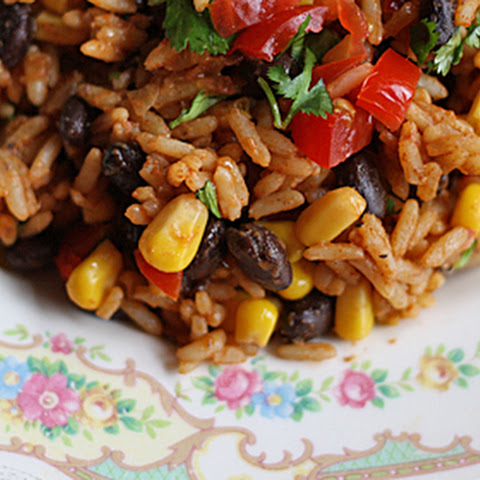 Spanish Rice with Black Beans & Corn