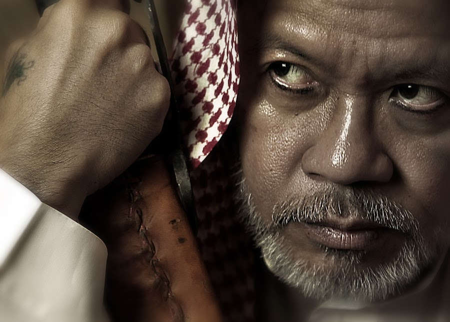 The Arabian Landlord by Leyon Albeza - People Portraits of Men