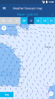 Screenshot of Météo Marine