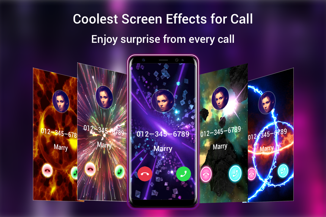 call screen themes kostenlose themen coole effekte android apps download. Black Bedroom Furniture Sets. Home Design Ideas