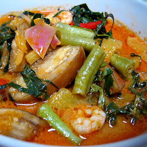 Perut Ikan Recipe (Nyonya Pickled Fish Stomach Curry)