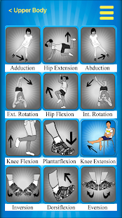 Ped PT Strength Ex - Knee Ext Fitness app screenshot for Android
