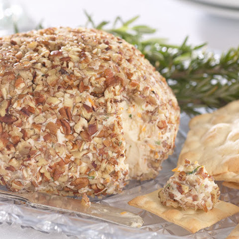 Roasted Garlic and Onion Cheese Ball