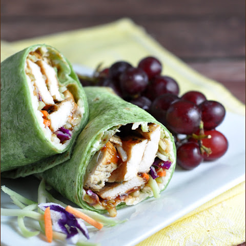 Barbecue Chicken Wrap