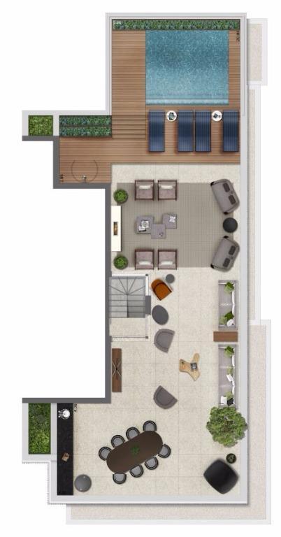 Cobertura Pav Superior - 365 m²
