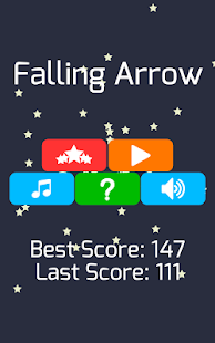 Falling Arrow - screenshot