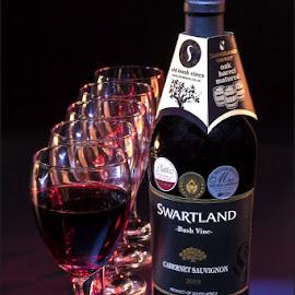 Swartland Wine by Hannes Kruger - Artistic Objects Glass ( wine, glasses, wine glass, drink, bottle )