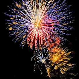 Fireworks Shot by Michael Pruitt - Public Holidays July 4th ( cottonwood, fireworks )