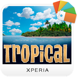 XPERIA™ Tropical Theme