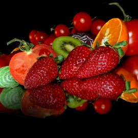 fruits and vegetables by LADOCKi Elvira - Food & Drink Fruits & Vegetables ( fruits )