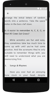 Memorization Techniques Tricks - screenshot