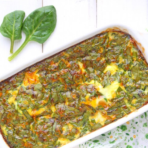 Passover Spinach Bake