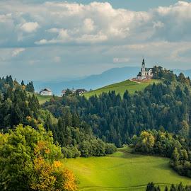 by Mario Horvat - Landscapes Mountains & Hills ( clouds, hills, sky, slovenija, slovenia, landscape )