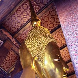 Wat Pow, Bangkok by Natasha Katgara Gocal - Buildings & Architecture Places of Worship