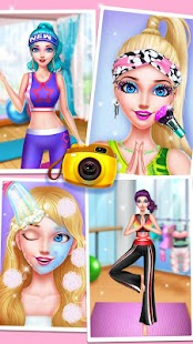 Yoga Girls Makeover - Fitness Salon Screenshot