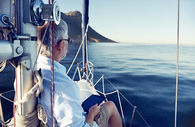 retired sailing