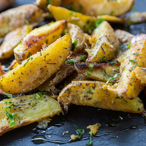 Crispy Oven Potato Wedges