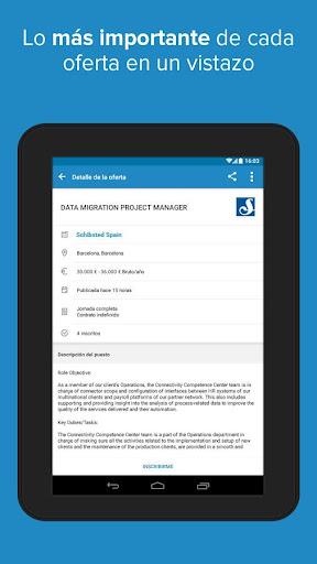 InfoJobs - Job Search screenshot 13