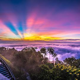 Penang Hill by Lim Keng - Landscapes Sunsets & Sunrises