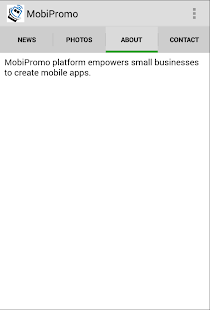 MobiPromo - screenshot