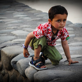 Playful Child by Prasanta Das - Babies & Children Children Candids ( playful, enjoying, happy, cild )
