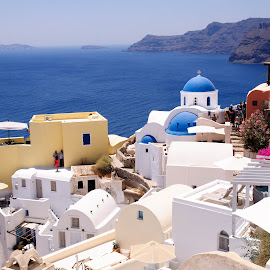 Santorini by Dave Sollorin - Landscapes Travel ( santorini greece, oia santorini, greece, oia, thira, santorini )