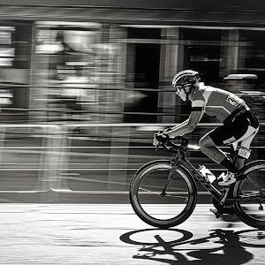 Riding Fast  - B&W.jpg