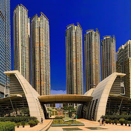 Hong Kong by Johan Koch - Buildings & Architecture Office Buildings & Hotels