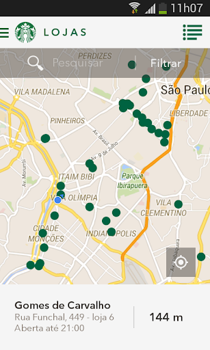 Starbucks Brasil screenshot 4