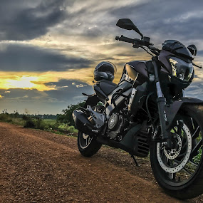 Highway's call.. by Rana Ghosh - Transportation Motorcycles