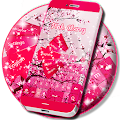 Download Pink Cherry For GO Keyboard APK for Android Kitkat
