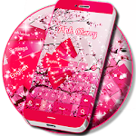 Pink Cherry For GO Keyboard 1.224.1.82 Apk
