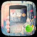 Rain GO Keyboard Theme APK for Bluestacks