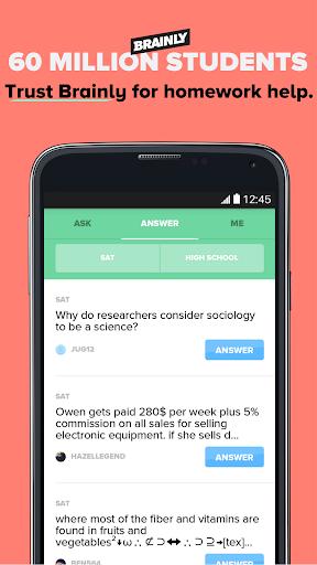 Brainly Homework Help & Solver screenshot 7
