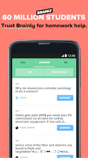 Download Brainly: Homework Help APK for Android Kitkat