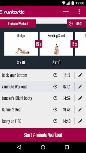 Runtastic Butt Trainer Workout screenshot 5