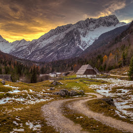 by Blaž Ocvirk - Landscapes Mountains & Hills ( slovenia, julian, valley )